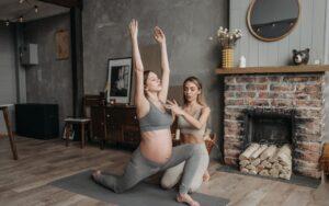 Yoga para personas embarazadas