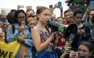 Los jóvenes lideran la lucha contra el cambio climático
