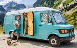 Viajes en furgonetas camper