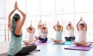 Rutinas de Yoga para niños